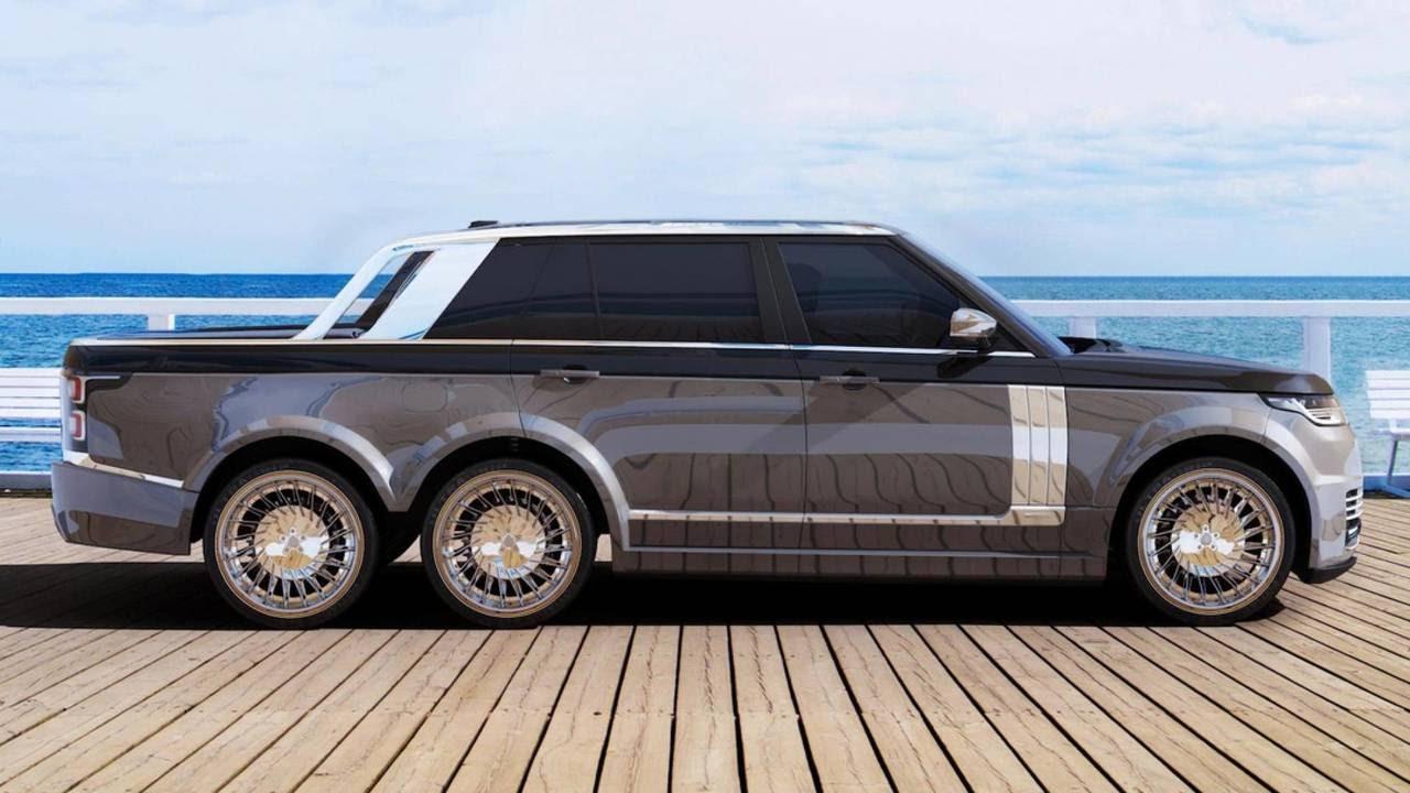 image result for Range Rover Vogue pickup truck