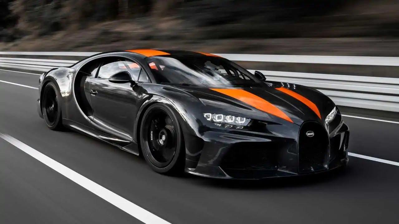 9. Bugatti Chiron Super Sport 300 +