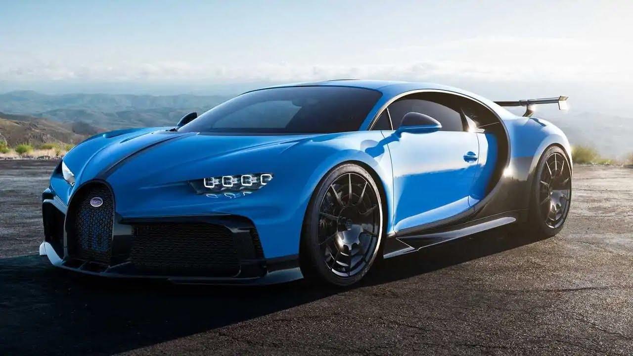 14. Bugatti Chiron Pur Sport