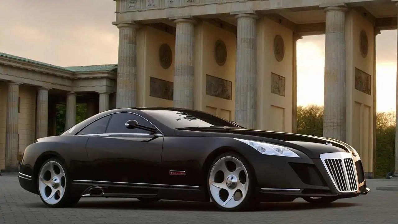 4. Mercedes-Maybach Exelero