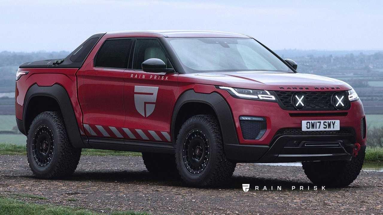 Image result for Range Rover Velar pickup truck