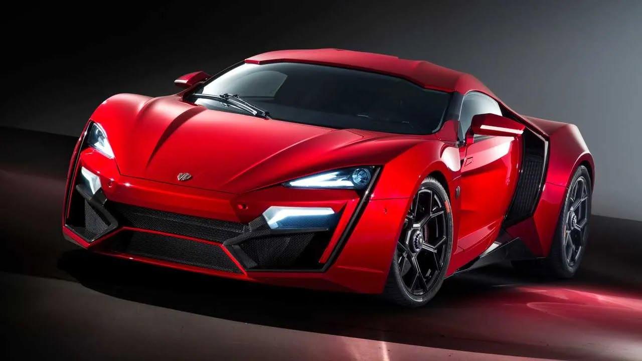 12. W Motors Lykan Hypersport