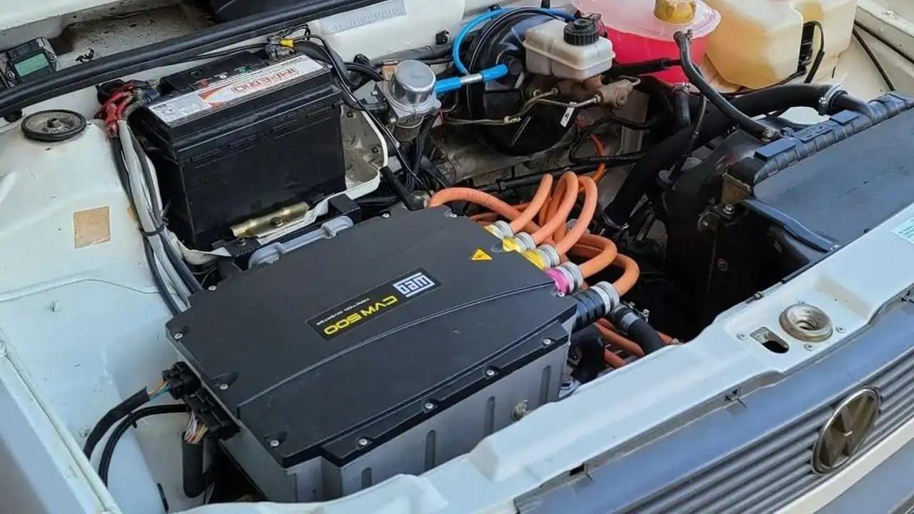 VW Gol 1994 GTE elétrico by Fueltech